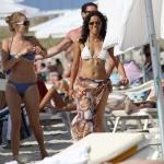 michelle rodriguez beach 100611